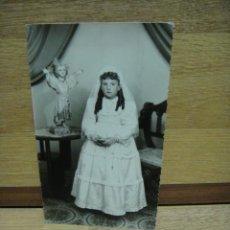 Fotografía antigua: FOTO DE 1ª COMUNION. Lote 44357225