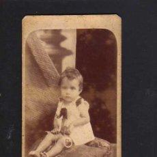 Fotografía antigua: FOTOGRAFÍA ANTIGUA. BEBE. Lote 46318065