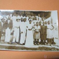 Fotografía antigua: FOTOGRAFIA DE BODA TERRITORIOS ESPAÑOLES GOLFO DE GUINEA EN GUINEA ECUATORIAL - AÑO 1940S.. Lote 46913118