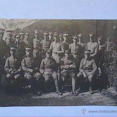 Fotografía antigua: FOTOGRAFÍA ORIGINAL FERROTIPO SOLDADOS Y OFICIALES IMP. ALEMÁN I GUERRA MUNDIAL. REIMS. JUNIO 1915.. Lote 47358846