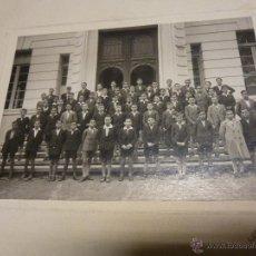 Fotografía antigua: FOTOGRAFIA DE GRUPO ESCOLAR DE NIÑOS, FOTOGRAFIA PACHECO DE VIGO, EN CARTON RIGIDO DE 26 X 20 CM.. Lote 47374886