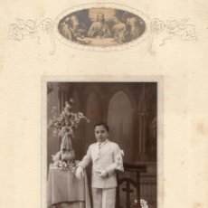 Fotografía antigua: FOTO DE COMUNION 1932- . Lote 47838737