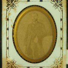 Fotografía antigua: RETRATO DE HOMBRE. DAGUERROTIPO. F RAMANN. TRIESTE. ITALIA. CIRCA 1870.. Lote 49430932
