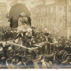 Fotografía antigua: POSTAL ANTIGUA FOTOGRAFICA- FERRER LA CORUÑA-CARNAVAL AÑO 1922. Lote 49914998