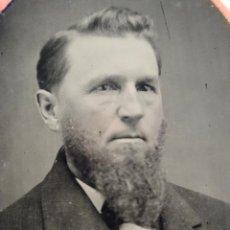Alte Fotografie - colodion tintipo ferrotipo 1/6 placa 1870 1890 siglo XIX mide aprox 60mm x 90mm - 50208146