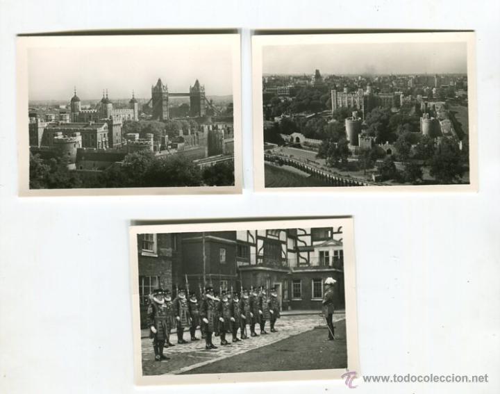Fotografía antigua: TOWER OF LONDON CARPETA CON 12 FOTOGRAFIAS (COMPLETA) TAMAÑO 9 X 6 CMS - Foto 2 - 50682170