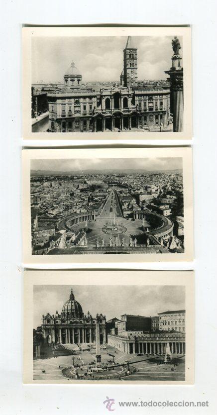 Fotografía antigua: ROMA CARPETA CON 20 FOTOGRAFIAS (COMPLETA) TAMAÑO 9 X 6 CMS - Foto 2 - 50682404
