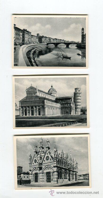 Fotografía antigua: PISA CARPETA CON 20 FOTOGRAFIAS (COMPLETA) TAMAÑO 9 X 6 CMS - Foto 2 - 50682458