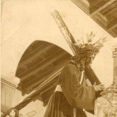 Fotografía antigua: FOTOGRAFIA ANTIGUA-NUESTRO PADRE JESUS DEL GRAN PODER-FOTO ANTONIO FERNANDEZ-AÑO 1952-. Lote 51000808
