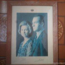 Fotografía antigua: FOTOGRAFIA REYES DE ESPAÑA JUAN CARLOS Y SOFIA 1976. Lote 56632116