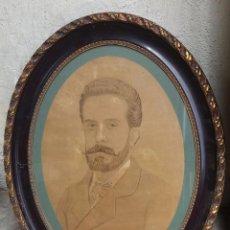 Fotografía antigua: RETRATO ANTIGUO RETOCADO DE ÉPOCA 1900'S PROCEDÈNCIA TERRASSA TARRASA. Lote 57398773