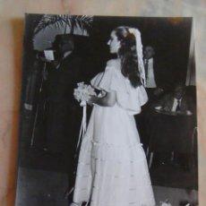 Fotografía antigua: (TC-4) FOTOGRAFIA PELUQUERIA PEINADO AÑOS 80. Lote 57717787