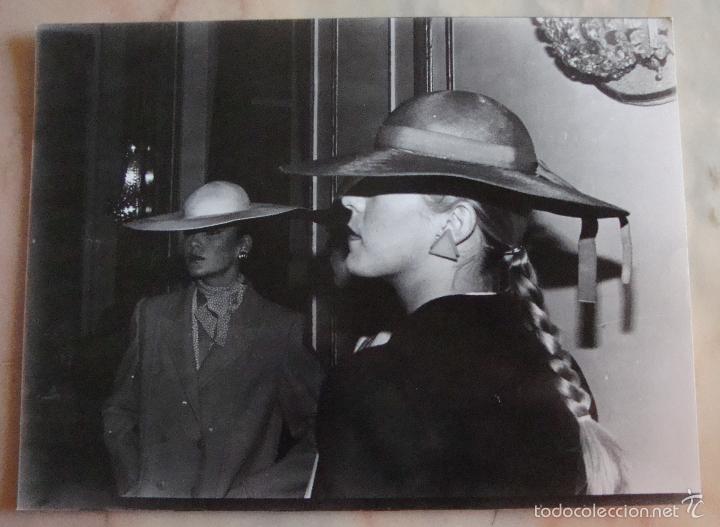 (TC-4) FOTOGRAFIA PELUQUERIA PEINADO AÑOS 80 (Fotografía Antigua - Ambrotipos, Daguerrotipos y Ferrotipos)