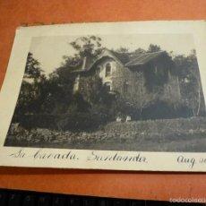 Fotografía antigua: ANTIGUA FOTOGRAFIA, LA CAVADA?. SANTANDER, AÑO DE 1931, DE 20 X 15 CM.. Lote 58150099