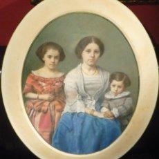 Fotografía antigua: RETRATO DE FAMILIA POR CHARLES DEFOREST FREDRICKS (1823-94). Lote 62539968