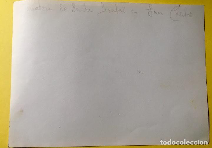 Fotografía antigua: Bariloche Argentina foto blanco negro carretera santa Isabel a san carlos vegetacion Arboles - Foto 4 - 62813020