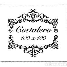 Fotografía antigua: TOALLITA LIMPIA GAFAS CON EL LEMA COSTALERO 100X100. Lote 68150549