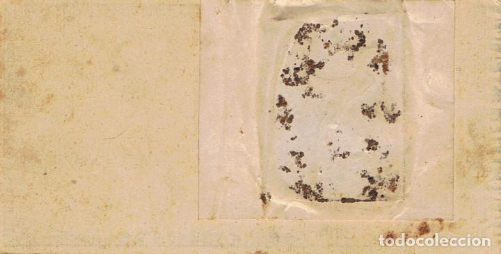Fotografía antigua: DAGERROT. SEÑORA CON NIÑO SOBRE BILLETE DE BANCO DE ESPAÑA. 1899. RARO. FOT. L.CANUT.BARCELONA - Foto 2 - 72837503