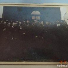 Fotografía antigua: ANTIGUA FOTOGRAFIA CON EL PRIMER PRESIDENTE DE LA 2ª REPÚBLICA DE ESPAÑA NICETO ALCALÁ ZAMORA. Lote 75649191