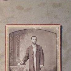 Fotografía antigua: FOTO ANTIGUA. NARCISO.HABANA MATANZAS CUBA 1881. Lote 77506049