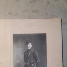 Fotografía antigua: FOTO ANTIGUA. MILITAR FOTÓGRAFO FRANCES 1911. Lote 77507597