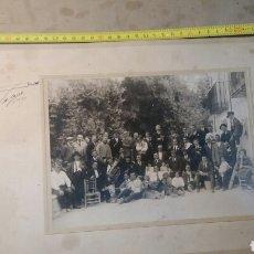 Fotografía antigua: FOTO ANTIGUA DE GRUPO.CARLOS PALACIO.ALCOY. ALICANTE.. Lote 77508483