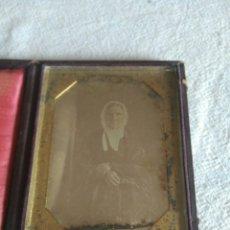 Fotografía antigua: DAGUERROTIPO ORIGINAL REALIZADO ENTRE 1840 Y 1860 . Lote 87671480