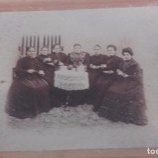 Fotografía antigua: ANTIGUA FOTO DE SRA. MAYORES DE TERTULIA. Lote 94326274