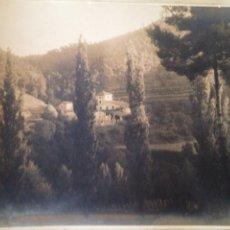 Fotografía antigua: ANTIGUA FOTOGRAFÍA 38X28.5 IMAGEN PAISAJE. Lote 95477016
