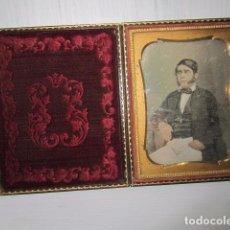 Fotografía antigua: ANTIGUO DAGUERROTIPO. Lote 97610583