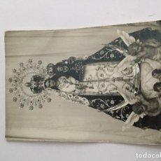 Fotografía antigua: FOTOGRAFÍA ANTIGUO - VIRGEN DE LOS DESAMPARADOS . Lote 98094203