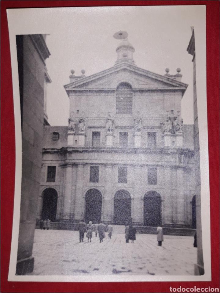 FOTOGRAFIA ANTIGUA EL ESCORIAL (Fotografía Antigua - Ambrotipos, Daguerrotipos y Ferrotipos)
