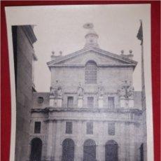 Fotografía antigua: FOTOGRAFIA ANTIGUA EL ESCORIAL. Lote 100860160
