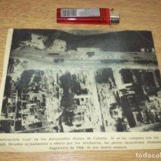 Fotografía antigua: TELEX FOTO PARA PERIODICOS 2 GUERRA NEWSPAP PHOTO 2DA GUERRA WORLD WAR 2. Lote 110406571