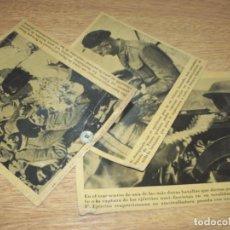 Fotografía antigua: TELEX FOTO PARA PERIODICOS 2 GUERRA MONGOMERY 3 PHOTO 2DA GUERRA WORLD WAR 2. Lote 110407839