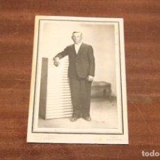 Fotografía antigua: 2 FOTOGRAFIAS ANTIGUAS. F. SANCHIS Y PARERA (VALENCIA). Lote 112838023