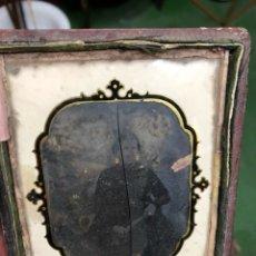 Fotografía antigua: ANTIGUO AMBROTIPO SEÑORA DE EPOCA. Lote 114486803