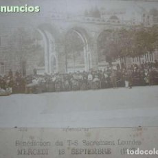 Fotografía antigua: FOTO ANTIGUA LOURDES AÑO 1907. Lote 114746087