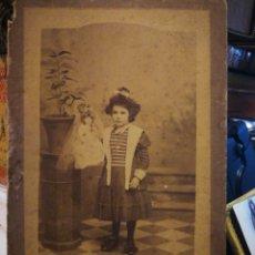 Fotografía antigua: FOTOGRAFÍAS DE MANUEL OLIVENZA. BADAJOZ. FINALES DEL XIX. Lote 114932046