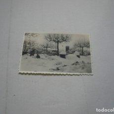 Fotografía antigua: GRAN NEVADA A TÁRREGA 1944-FOTOGRAFÍAS ORIGINALES. Lote 115110187