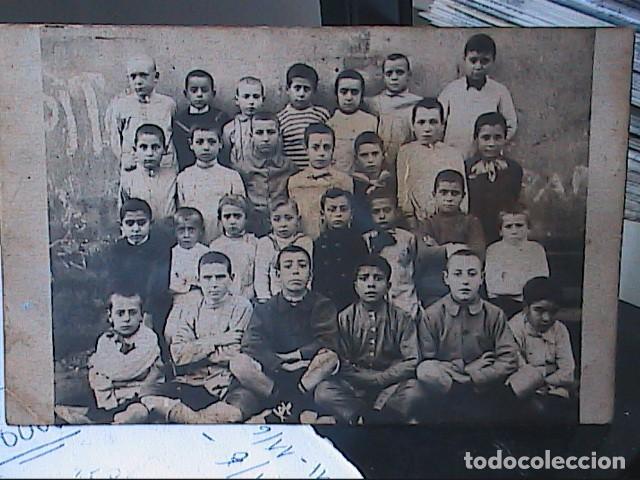 FOTOGRAFIA DE UN GRUPO DE ALUMNOS.TARRAGONA.1936. (Fotografía Antigua - Ambrotipos, Daguerrotipos y Ferrotipos)