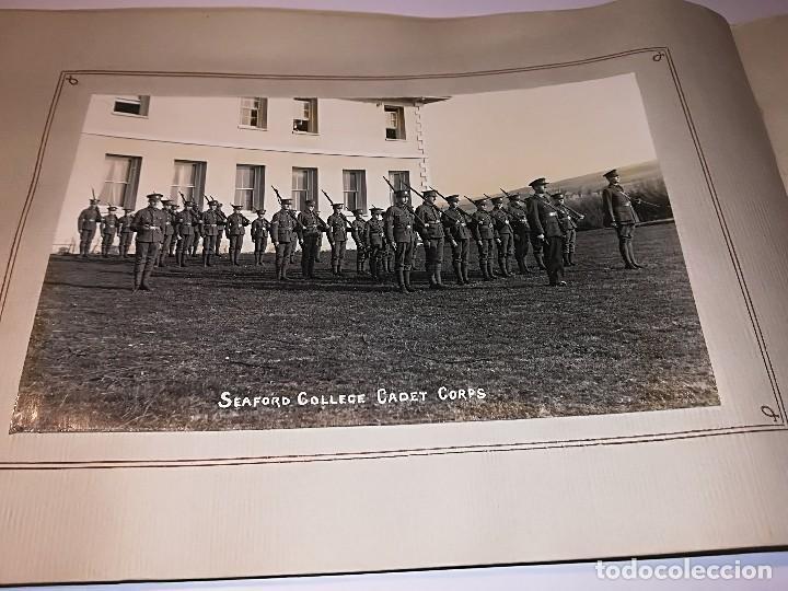CUADERNO PUBLICITARIO COLEGIO SEAFORD (1920-1928) CON 6 FOTOS ORIGINALES. (Fotografía Antigua - Ambrotipos, Daguerrotipos y Ferrotipos)