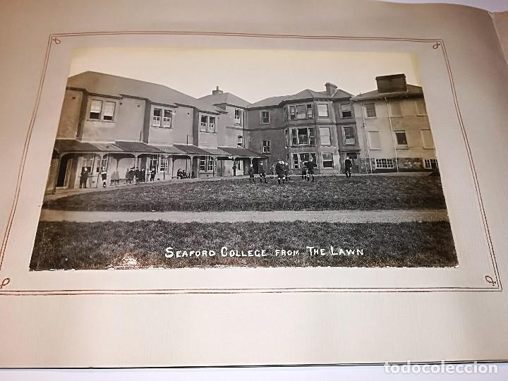 Fotografía antigua: Cuaderno publicitario colegio Seaford (1920-1928) con 6 fotos originales. - Foto 5 - 121452903