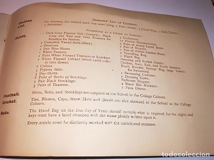 Fotografía antigua: Cuaderno publicitario colegio Seaford (1920-1928) con 6 fotos originales. - Foto 7 - 121452903