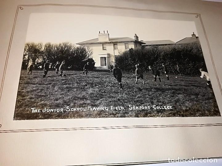 Fotografía antigua: Cuaderno publicitario colegio Seaford (1920-1928) con 6 fotos originales. - Foto 8 - 121452903