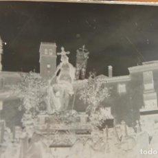 Fotografía antigua: CRISTAL NEGATIVO LORCA, PROCESION DEL RESUCITADO, MENCHON???. Lote 124185331