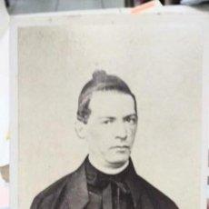 Fotografía antigua: FOTOGRAFÍA DEL GIACOMO ANTONELLI SECRETARIO DE ESTADO Y CARDENAL. Lote 133148022