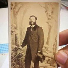 Fotografía antigua: FOTOGRAFIA SIGLO XIX J.LAURENT MADRID FOTOGRAFO DE S.M.LA REINA. Lote 133488994