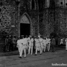 Fotografía antigua: FOTOGRAFIA: NEGATIVO SOBRE CRISTAL PRINCIPIOS SIGLO XX-CATALUNYA- BARCELONA. Lote 135016162