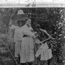 Fotografía antigua: FOTOGRAFIA: NEGATIVO SOBRE CRISTAL PRINCIPIOS SIGLO XX-CATALUNYA- AFRICA. Lote 136368526